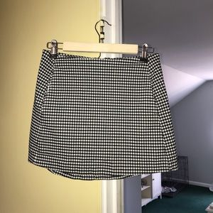 Urban Outfitters Gingham Skirt Womens Small EUC